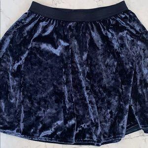 Gap Velvet Skirt